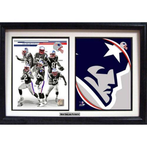New EnglandPatriots Double Custom Frame