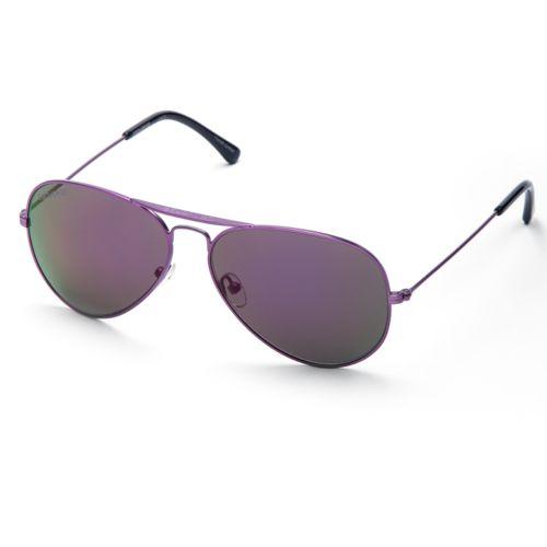 polarized aviator sunglasses bkpi  Converse Polarized Aviator Sunglasses