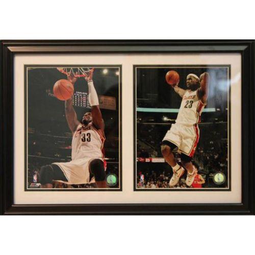 Cleveland Cavaliers Double Custom Frame