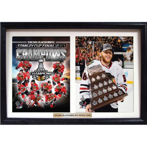 Chicago Blackhawks Patrick Kane Double Custom Frame