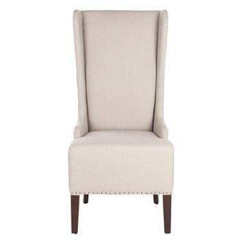 Safavieh Becall Taupe Dining Chair