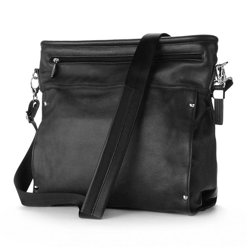 Buxton Leather Satchel