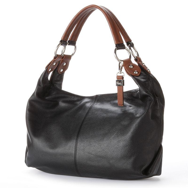 Buxton Leather Shoulder Bag