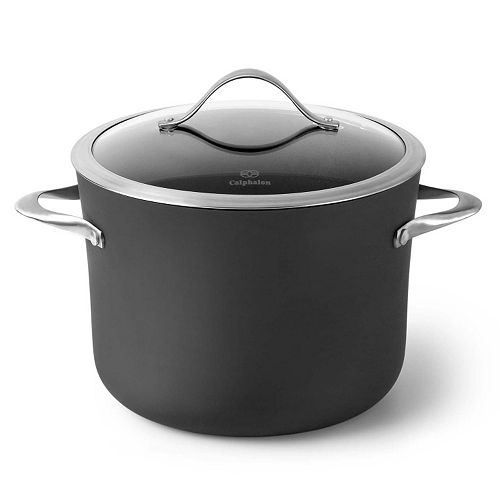 Calphalon Contemporary Nonstick 8-qt. Hard-Anodized Covered Stockpot