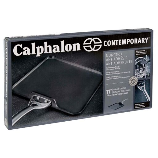 Calphalon Contemporary Nonstick 11-in. Hard-Anodized Square Griddle