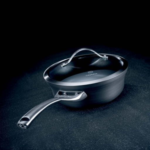 Calphalon Contemporary Nonstick 2.5-qt. Hard-Anodized Covered Shallow Saucepan