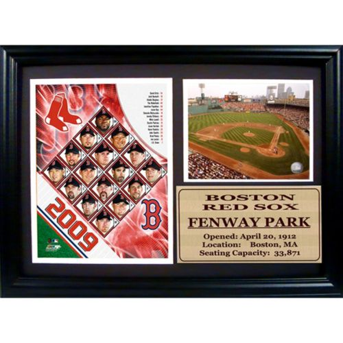 Boston Red Sox Fenway Park Photo Stat Frame