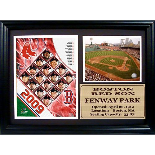 Boston Red Sox Fenway Park Photo Stat Frame