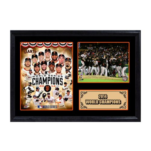 San Francisco Giants 2014 World Series Champions Photo Stat Frame