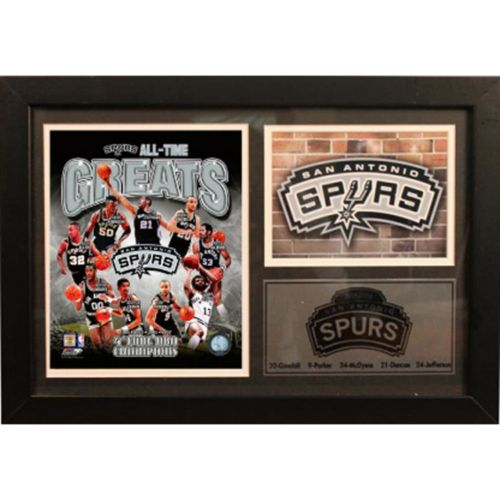 San Antonio Spurs Photo Stat Frame