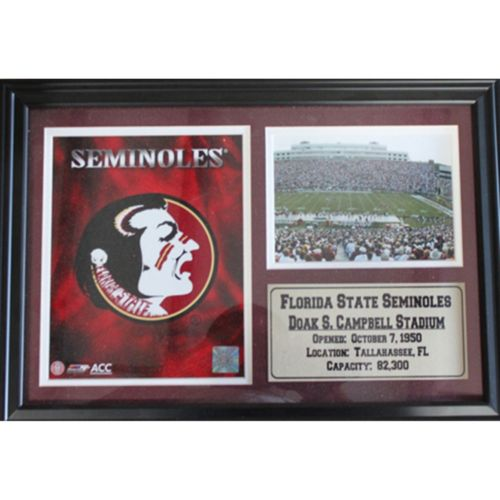 Florida State Seminoles Photo Stat Frame