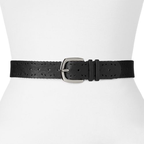 Relic Scallop Perforated Belt