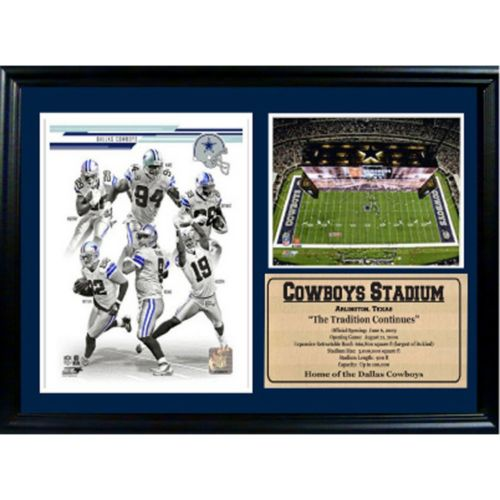 Dallas Cowboys Photo Stat Frame