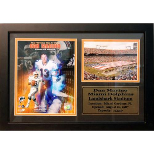 Miami Dolphins Dan Marino Photo Stat Frame