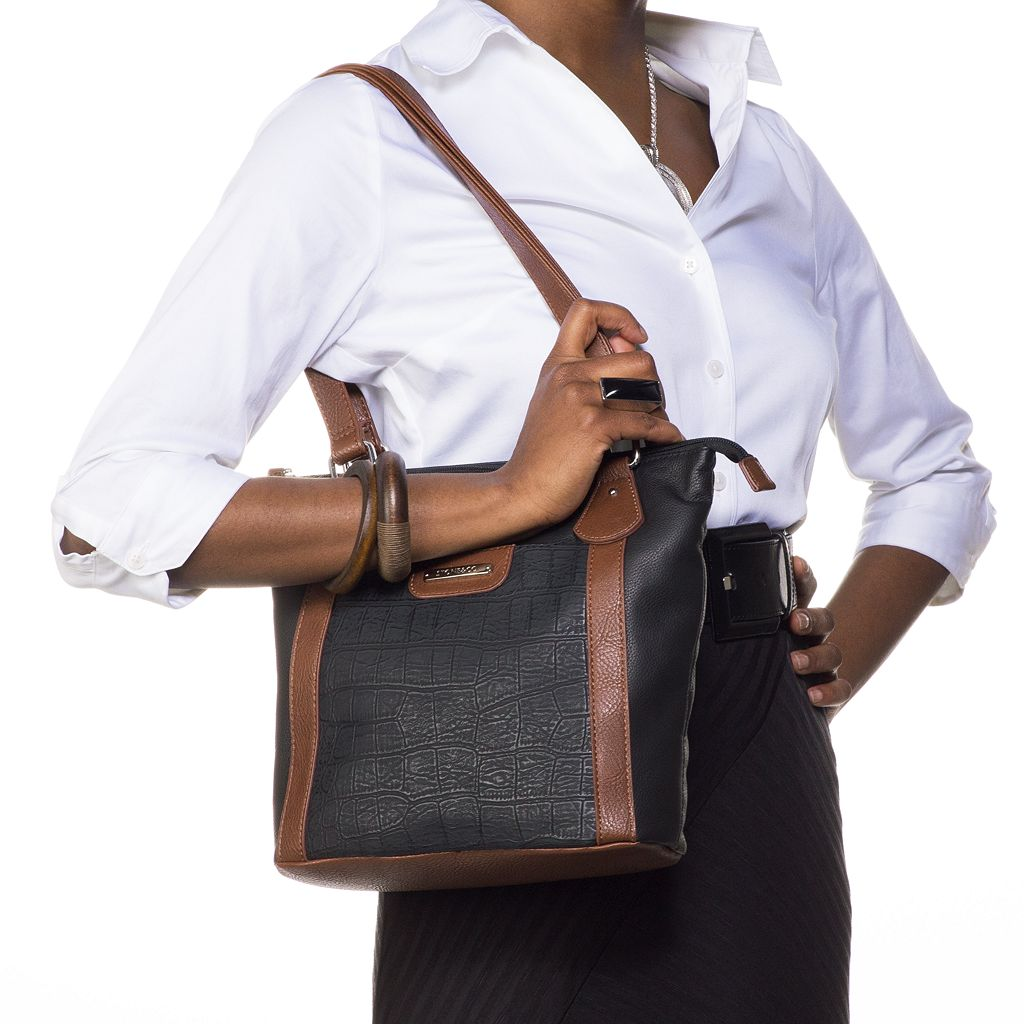 Stone and Co. Cynthia Leather Shopper