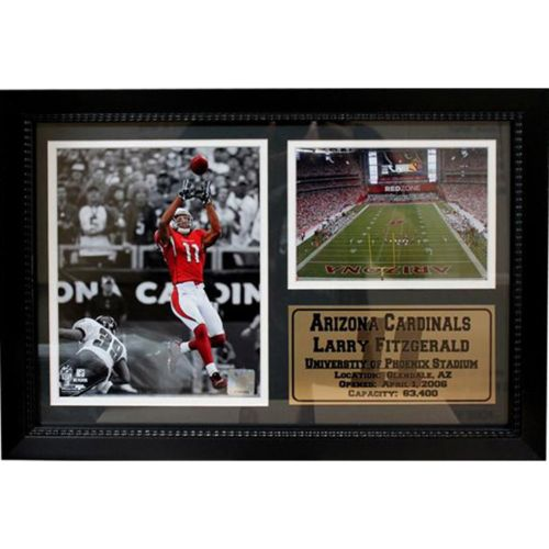 Arizona Cardinals Larry Fitzgerald Photo Stat Frame