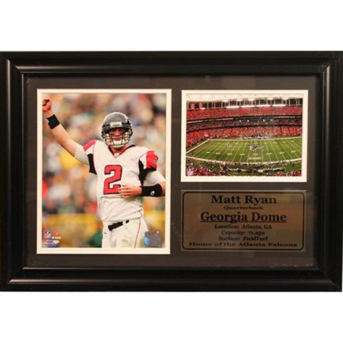 Atlanta Falcons Matt Ryan Photo Stat Frame