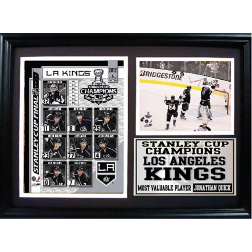 Los Angeles Kings 2012 Stanley Cup Champions Photo Stat Frame