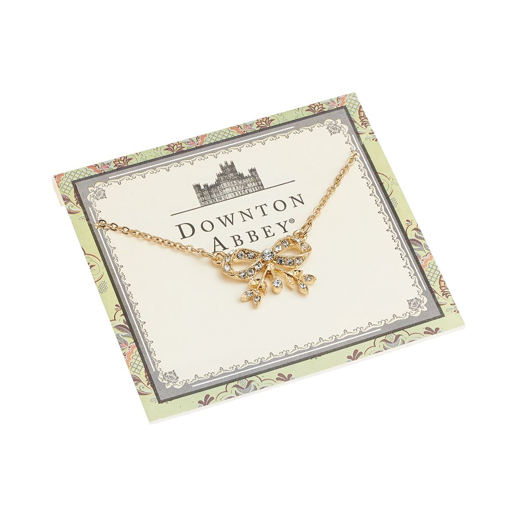 Downton Abbey Bow Collar Necklace
