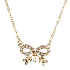 Downton Abbey® Bow Collar Necklace