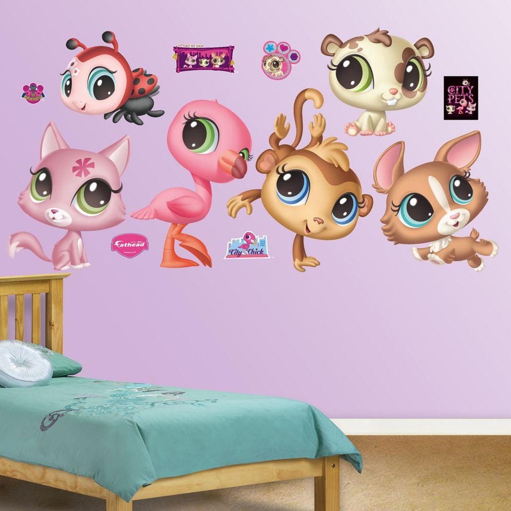 littlest pet shop wall decals fathead littlest pet shop wall decals