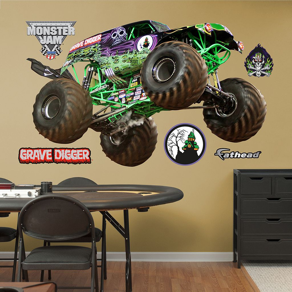 Fathead Monster Jam Gravedigger Wall Decals