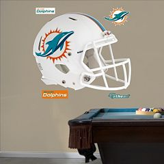 Fathead Miami Dolphins Helmet Wall Decals