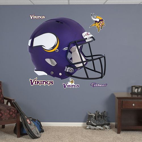 Fathead Minnesota Vikings Helmet Wall Decals