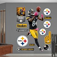 Fathead Pittsburgh Steelers Antonio Brown Wall Decals