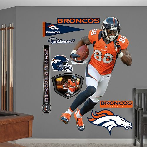 Fathead Denver Broncos Demaryius Thomas Wall Decals