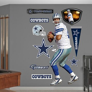Fathead Dallas Cowboys Tony Romo Wall Decals