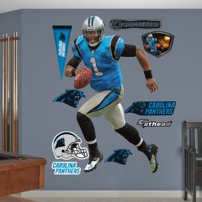 Fathead Carolina Panthers Cam Newton 10-Piece Wall Decals
