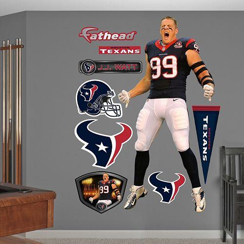Fathead Houston Texans J.J. Watt Wall Decals