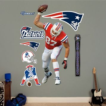 Fathead New England Patriots Rob Gronkowski Wall Decals