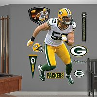 Fathead Green Bay Packers Clay Matthews 9 pc Wall Decals