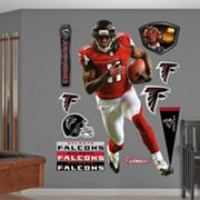 Fathead Atlanta Falcons Julio Jones 10 pc Wall Decals