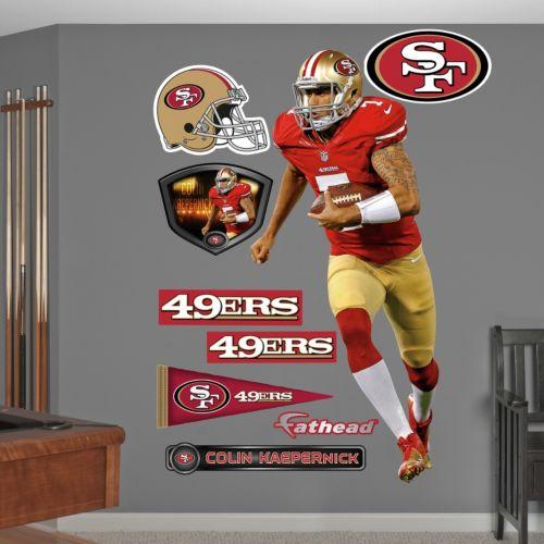 Fathead San Francisco 49ers Colin Kaepernick Wall Decals