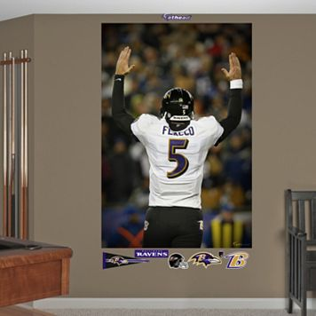 Fathead Baltimore Ravens Joe Flacco Playoff Touchdown Wall Decals