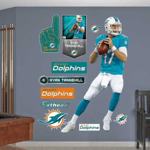 miami dolphins ryan tannehill wall decals