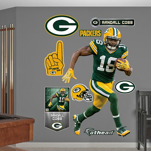 Fathead Green Bay Packers Rand...