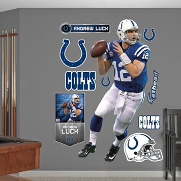 Fathead Indianapolis Colts Andrew Luck Wall Decals