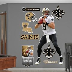 Fathead New Orleans Saints Drew Brees Wall Decals