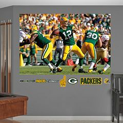 Fathead Green Bay Packers Aaron Rodgers 8-Piece Wall Decals