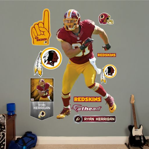 Fathead Washington Redskins Ryan Kerrigan Wall Decals