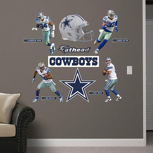 Fathead dallas cowboys revolution helmet wall decals for Dallas cowboys stadium wall mural