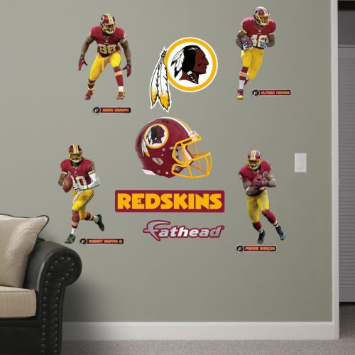 Fathead Washington Redskins Power Pack Wall Decals