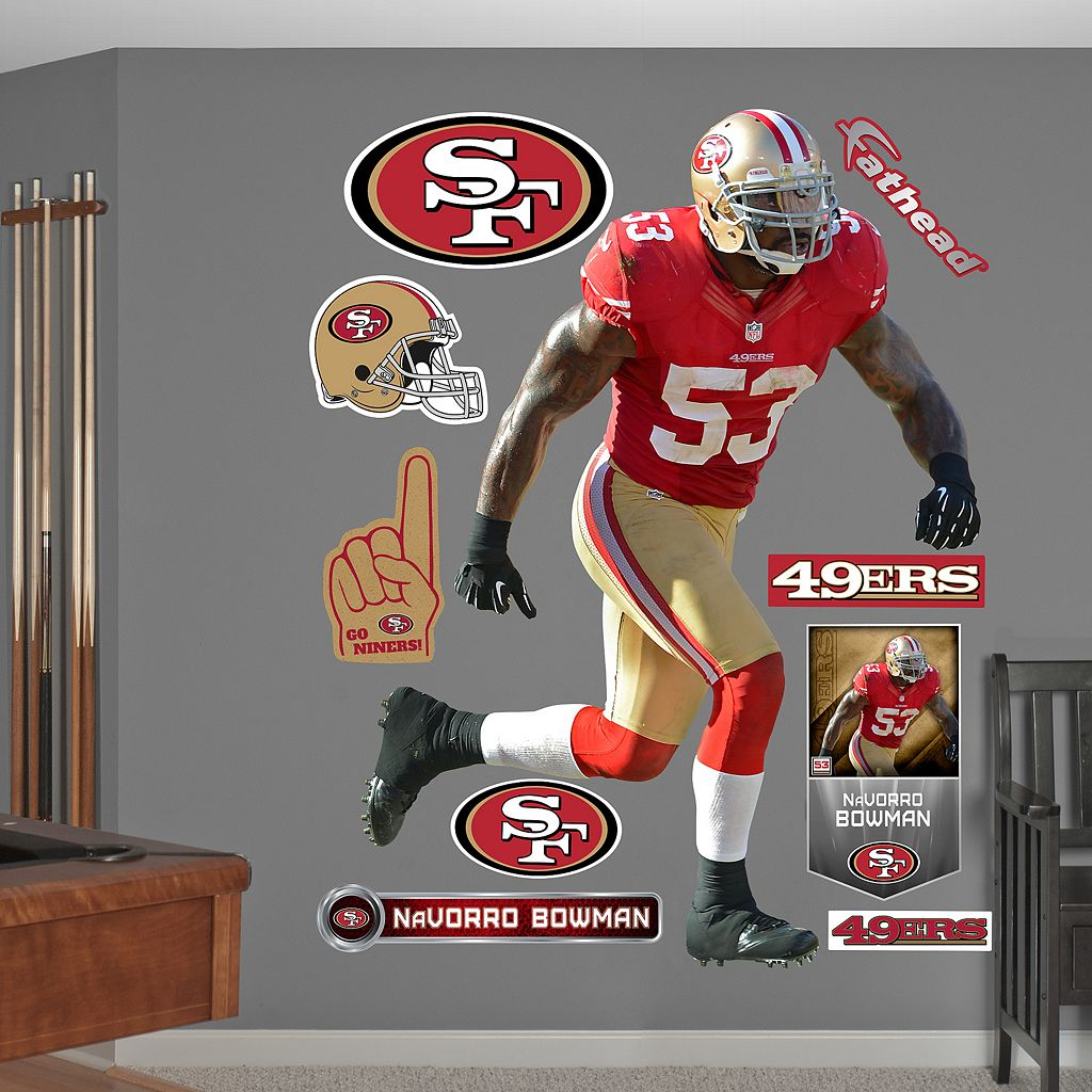 Fathead San Francisco 49ers NaVorro Bowman Wall Decals