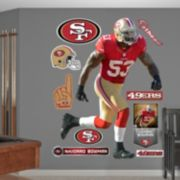 Fathead San Francisco 49ers NaVorro Bowman Wall Decals