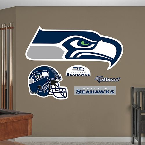 Fathead Seattle Seahawks Logo Wall Decals