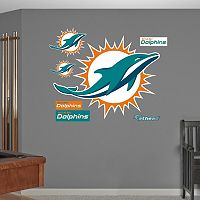Fathead Miami Dolphins Logo Wall Decals